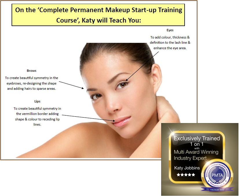 What You Will Learn On the Permanent Makeup Start-up Training Course london