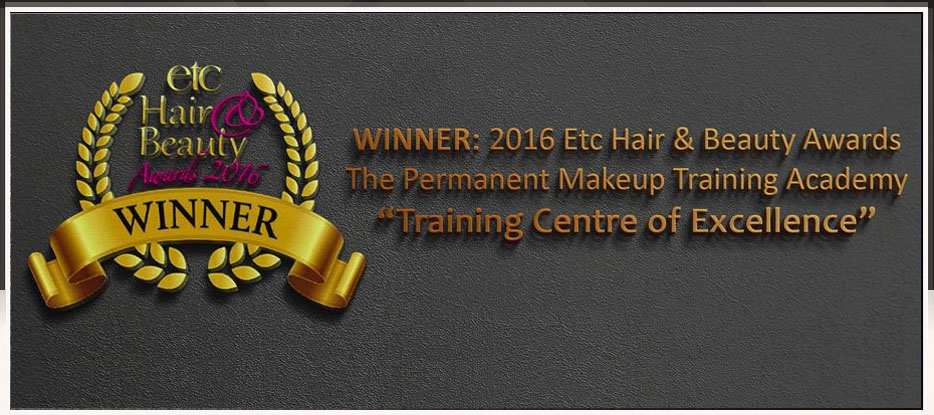 2016 Training Centre of Excellence Award banner